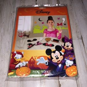 Disney Halloween Party Photo Prop Kit